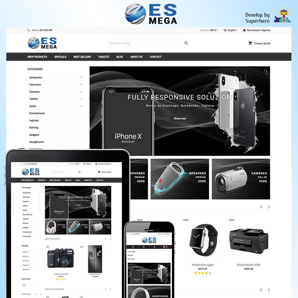 theme - Elektronika & High Tech - Mega Electronic Store - 1