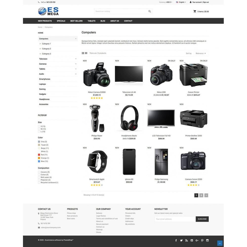 theme - Elektronika & High Tech - Mega Electronic Store - 3