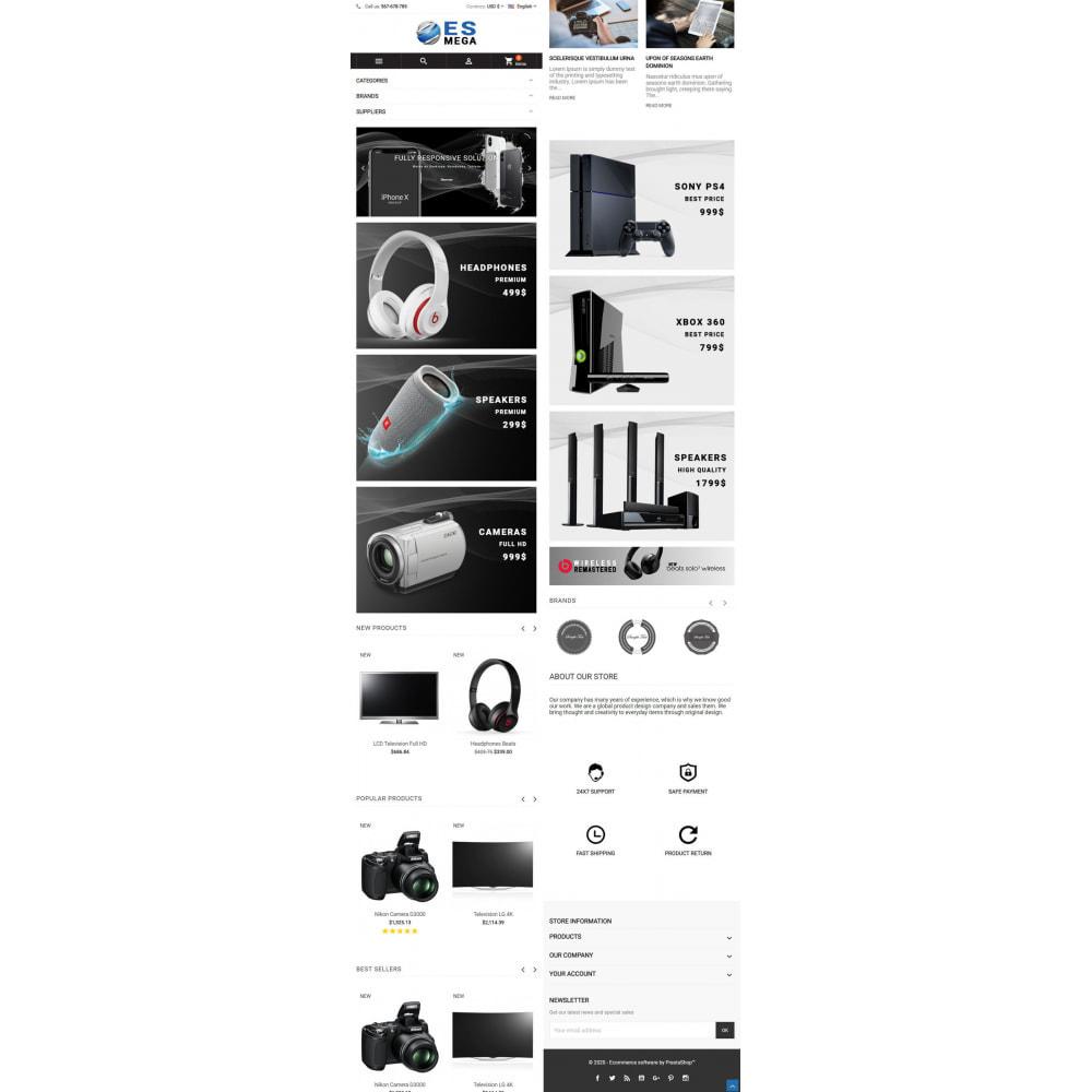 theme - Elektronika & High Tech - Mega Electronic Store - 6