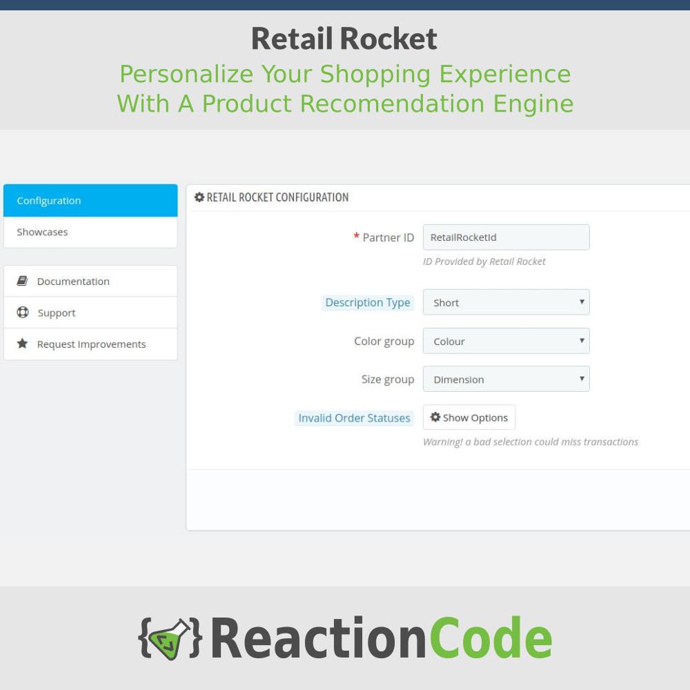 module - Cross-Selling & Produktbundles - Retail Rocket - 2