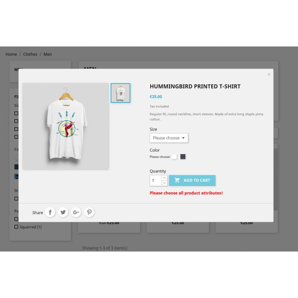module - Deklinacje & Personalizacja produktów - Please choose attributes - Product combination check - 2