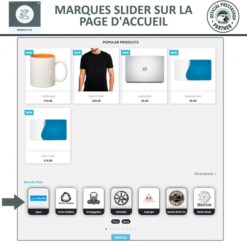 module - Marques & Fabricants - Brands Plus - Responsive Brands & Manufacturer Carousel - 2