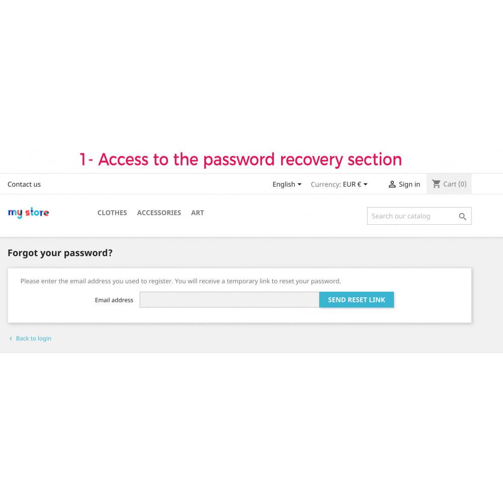 module - Sécurité & Accès - Advanced Recovery Password - 2