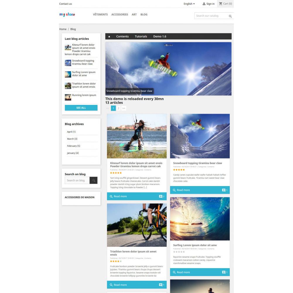 module - Блог, форумов и новостей - Prestablog : a professional blog for your shop - 3