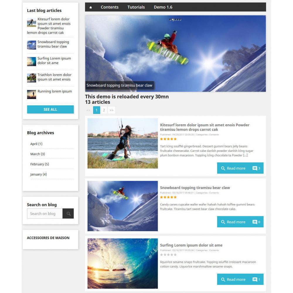 module - Блог, форумов и новостей - Prestablog : a professional blog for your shop - 4