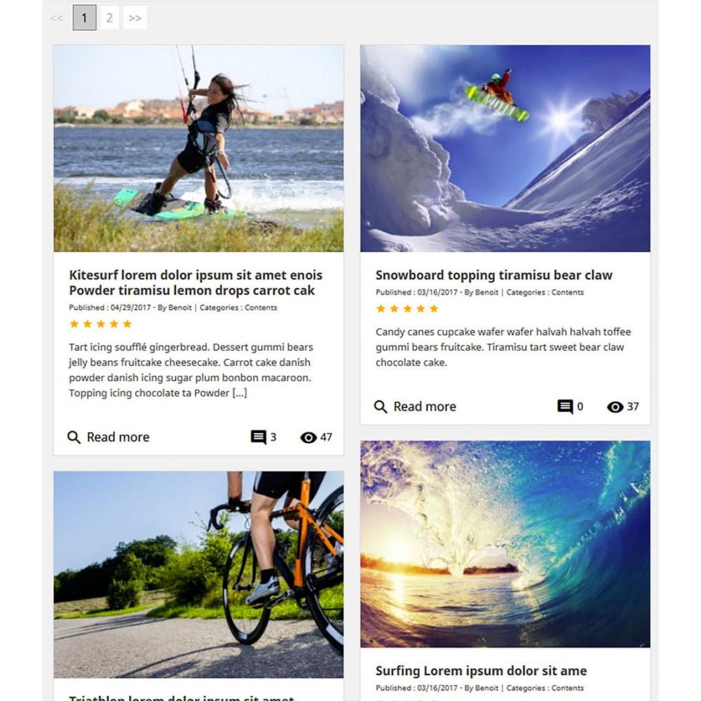 module - Блог, форумов и новостей - Prestablog : a professional blog for your shop - 8