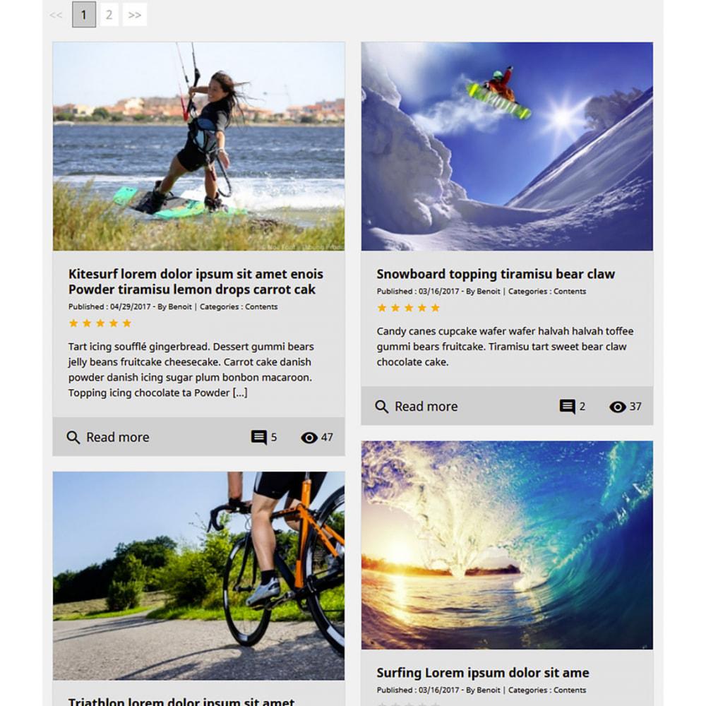 module - Блог, форумов и новостей - Prestablog : a professional blog for your shop - 9