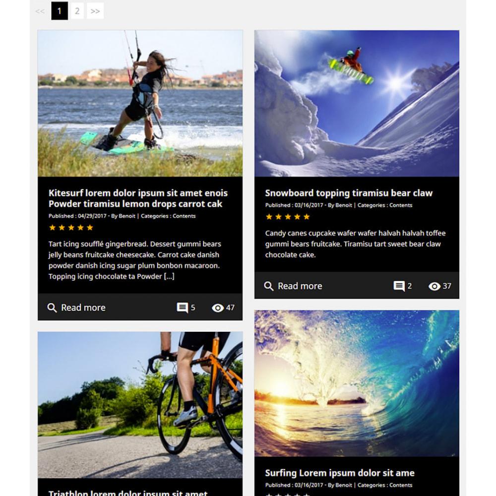 module - Блог, форумов и новостей - Prestablog : a professional blog for your shop - 10