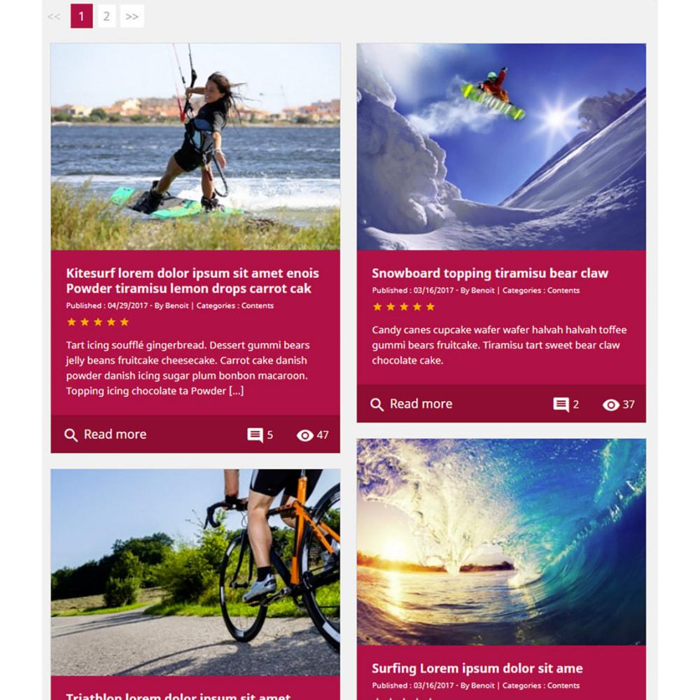 module - Блог, форумов и новостей - Prestablog : a professional blog for your shop - 11