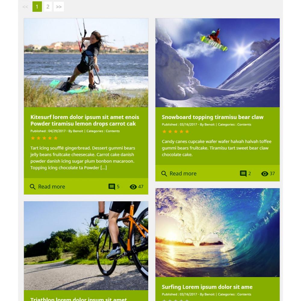 module - Блог, форумов и новостей - Prestablog : a professional blog for your shop - 12