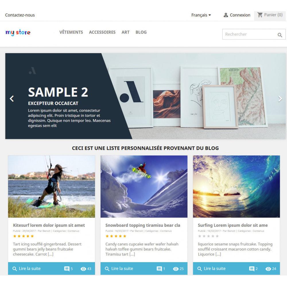 module - Blog, Forum & Actualités - Prestablog : un blog professionnel pour votre boutique - 2