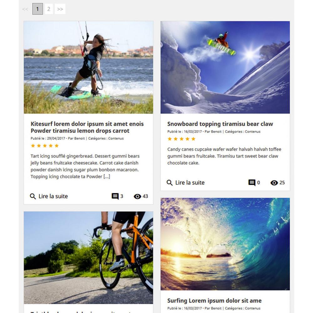 module - Blog, Forum & Actualités - Prestablog : un blog professionnel pour votre boutique - 8
