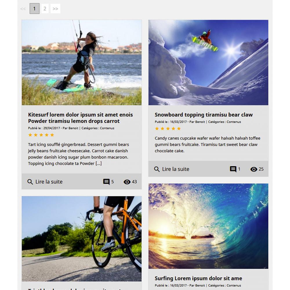 module - Blog, Forum & Actualités - Prestablog : un blog professionnel pour votre boutique - 9
