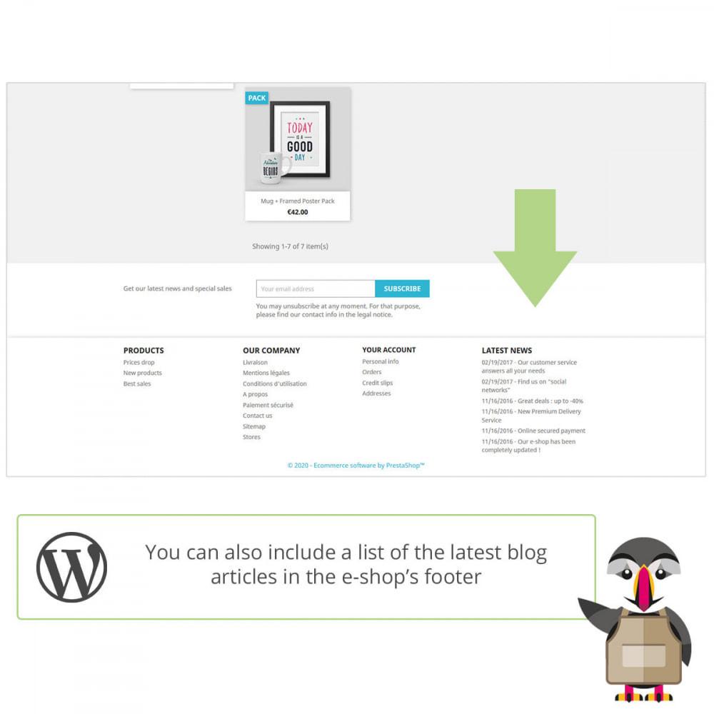 module - Blog, Fórum & Notícias - My Wordpress posts - 3