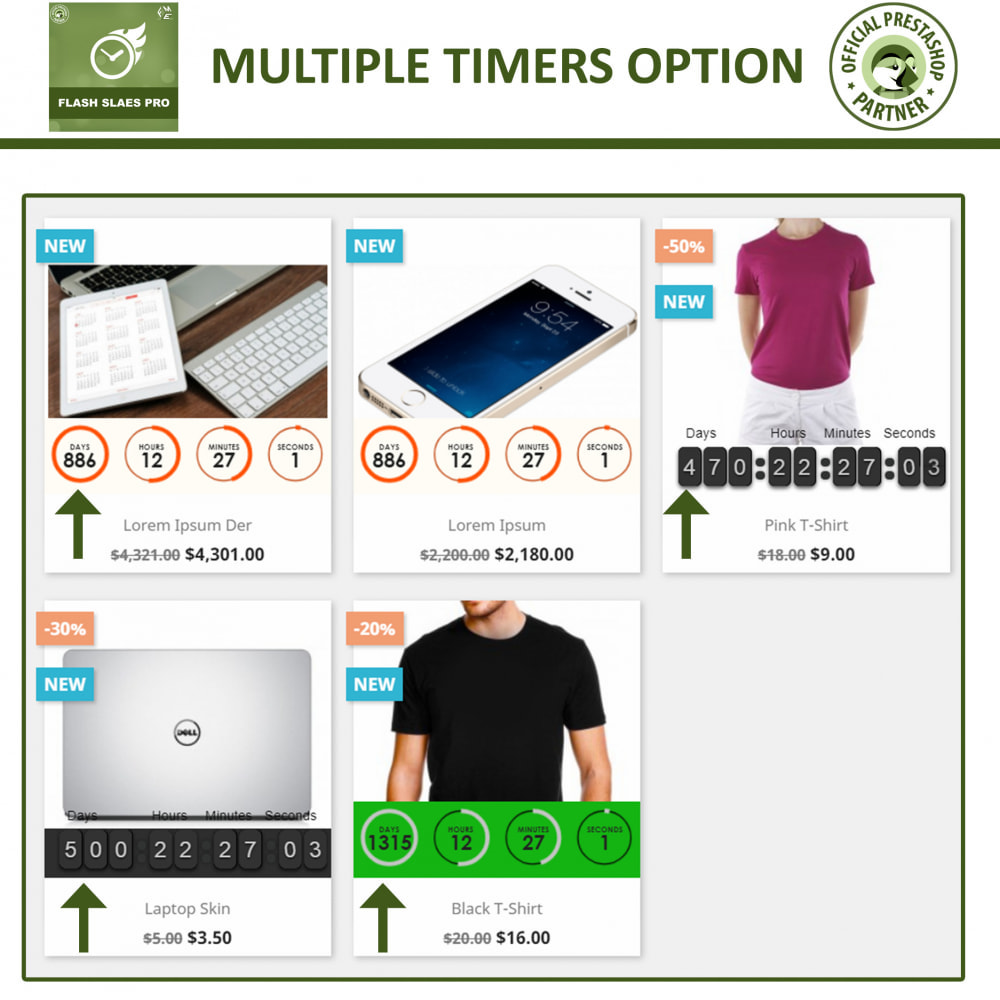 module - Flash & Private Sales - Flash Sales Pro - Discount with Countdown Timer - 4