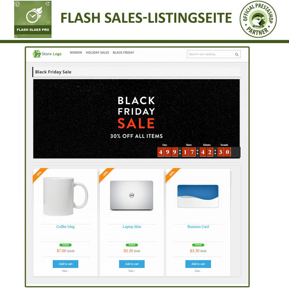 module - Flash & Private Sales - Flash Sales Pro - Werbeverkauf mit Countdown-Timer - 5