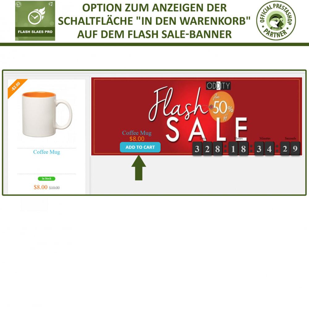 module - Flash & Private Sales - Flash Sales Pro - Werbeverkauf mit Countdown-Timer - 8