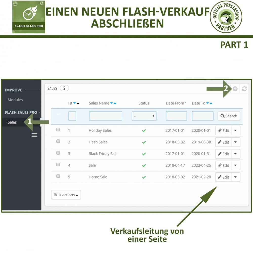 module - Flash & Private Sales - Flash Sales Pro - Werbeverkauf mit Countdown-Timer - 9