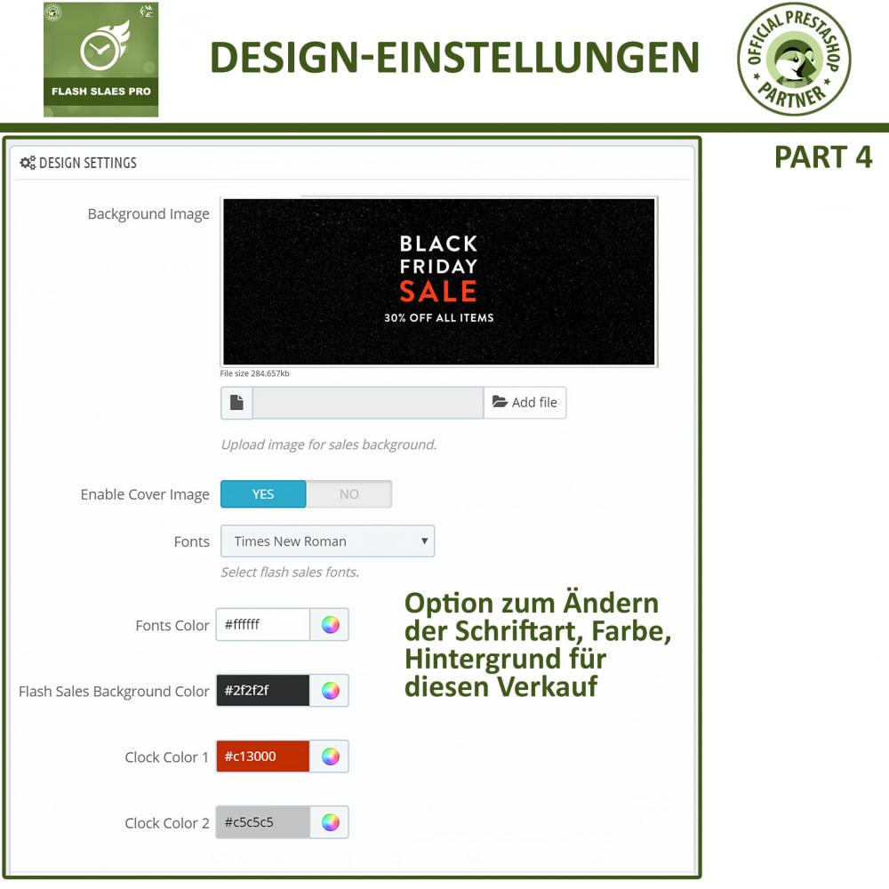 module - Flash & Private Sales - Flash Sales Pro - Werbeverkauf mit Countdown-Timer - 13