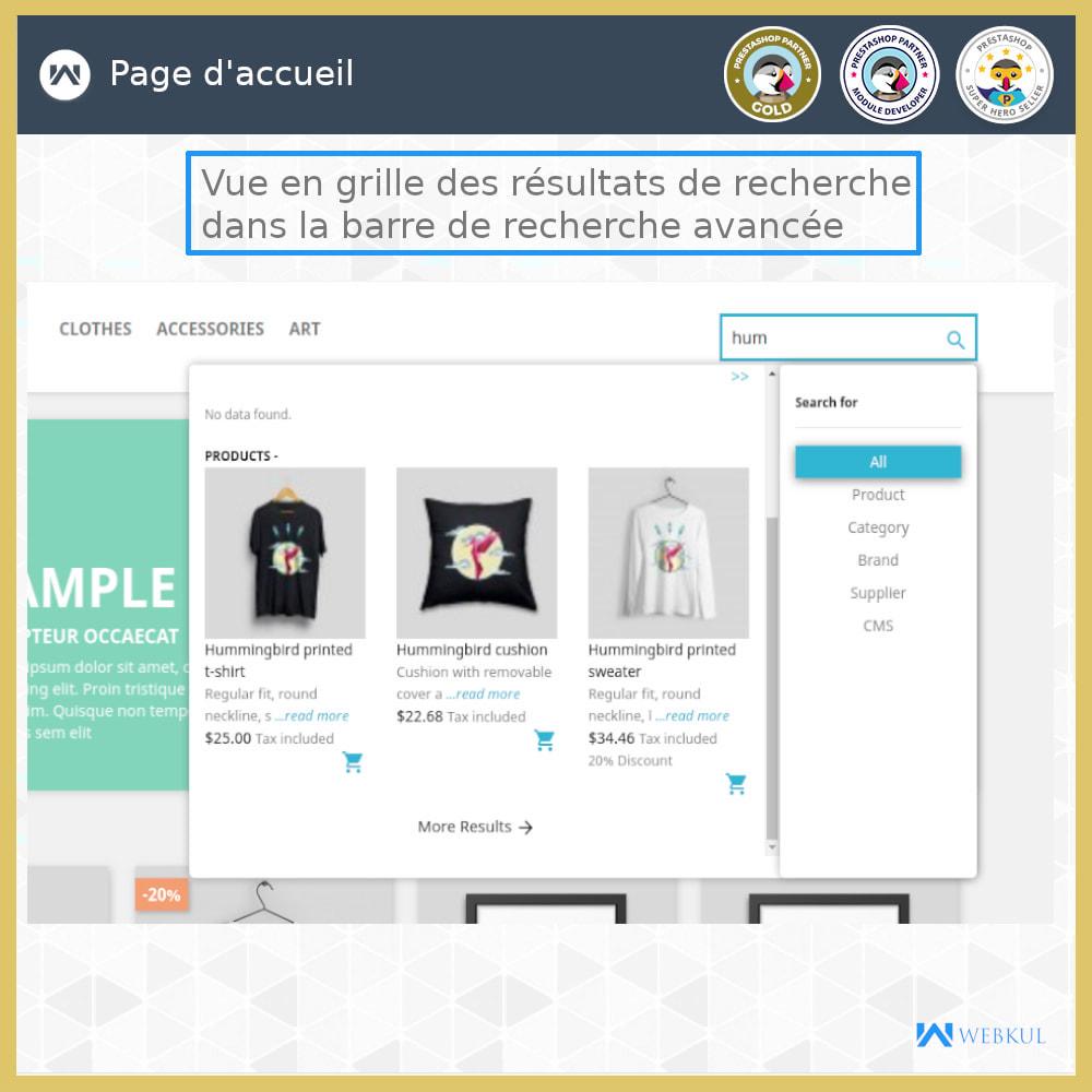 module - Recherche & Filtres - Recherche Avancée - 3
