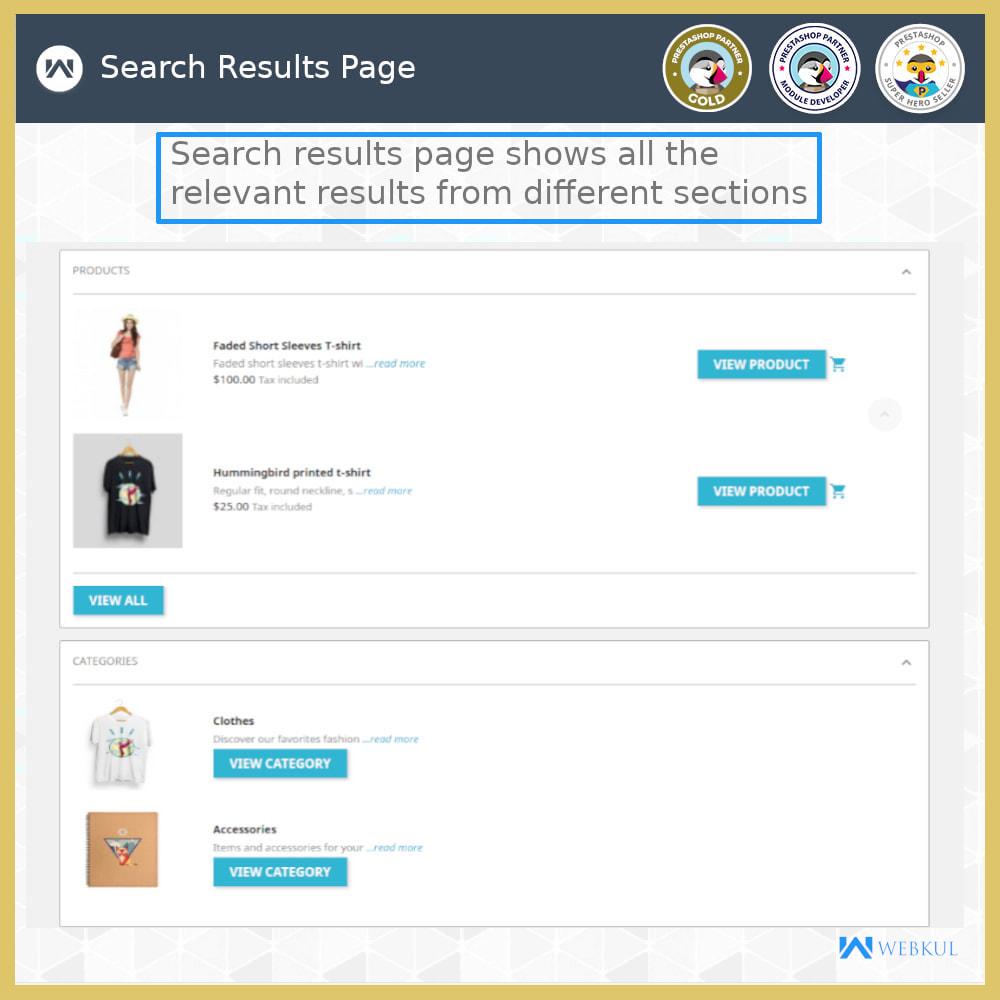module - Pesquisa & Filtros - Advanced Search - 7