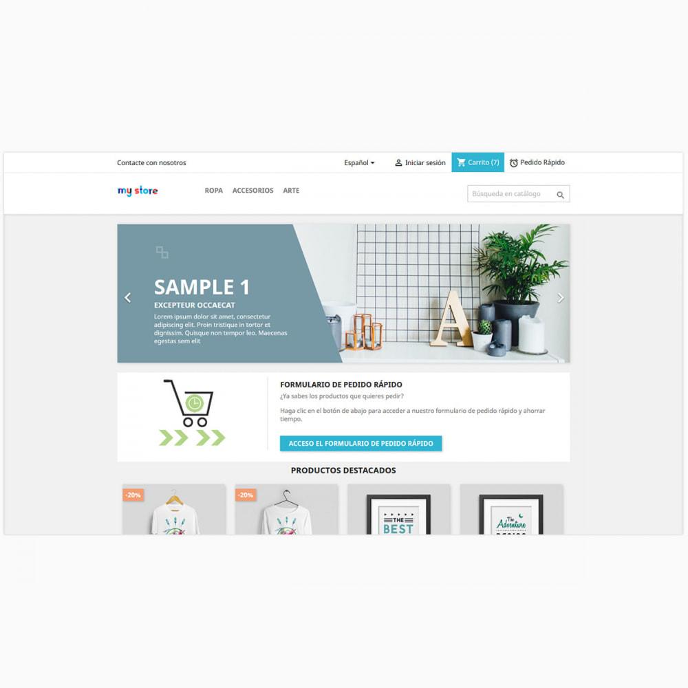 module - Proceso rápido de compra - Formulario de pedido rápido y fácil - 5