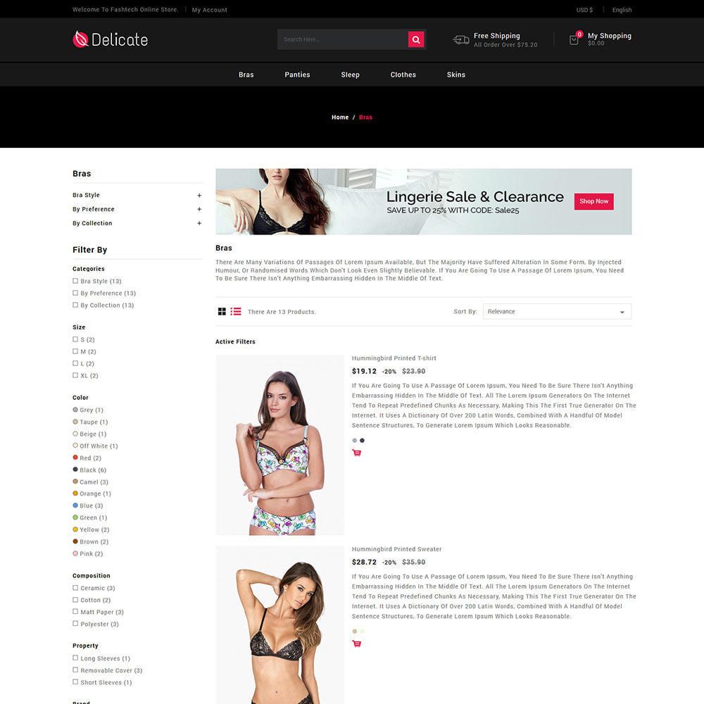 theme - Lingerie & Adulte - Sous-vêtements - Vêtements de nuit Soutien - 5