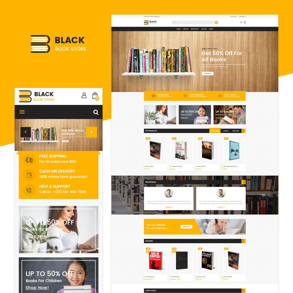 theme - Arte & Cultura - Libro Store - 1