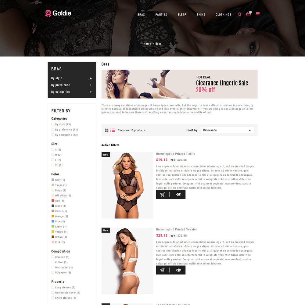theme - Lingerie & Adultos - Sex Love - Loja de calcinhas para adultos em lingerie - 5
