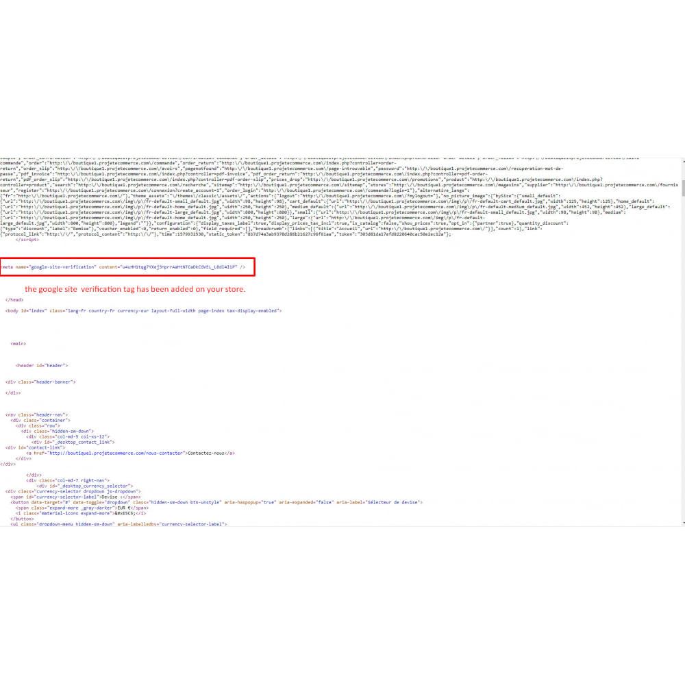 module - SEO (Posicionamiento en buscadores) - Herramientas para webmasters - 4