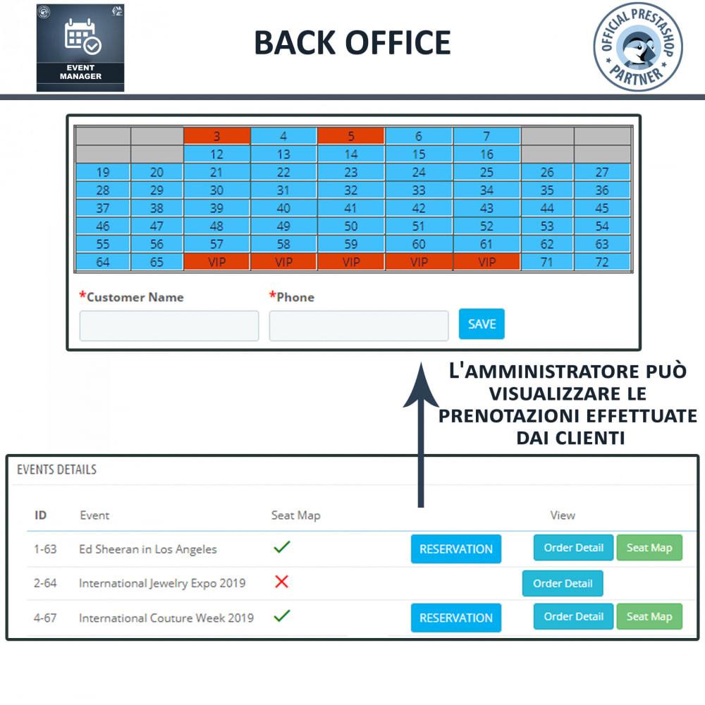 module - Prenotazioni & Noleggi - Manager degli Eventi, Crea Eventi & Vendi biglietti - 11