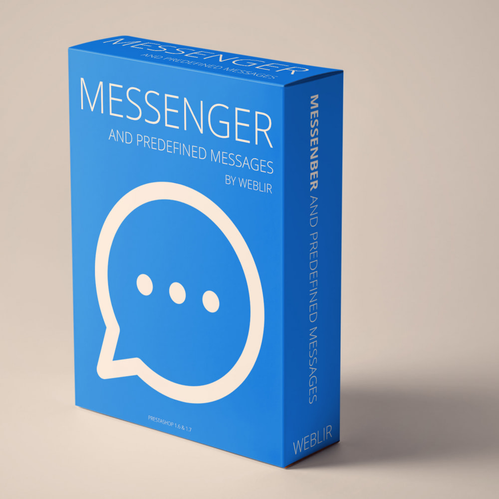 module - Support & Online Chat - Messenger and Predefined Messages - 1