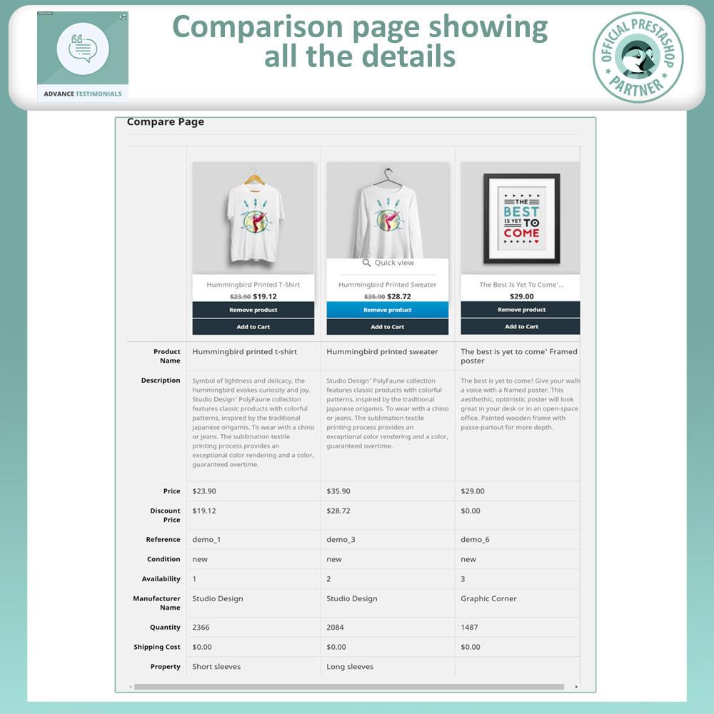 module - Price Comparison - Advance product Comparison - 5