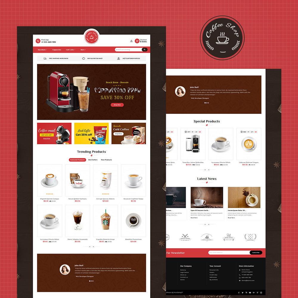 theme - Продовольствие и рестораны - Dessert - Cake & Coffee Store - 2