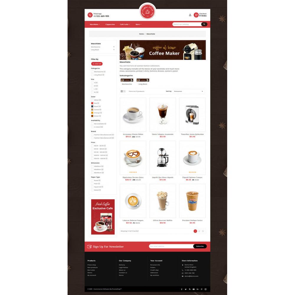 theme - Продовольствие и рестораны - Dessert - Cake & Coffee Store - 4
