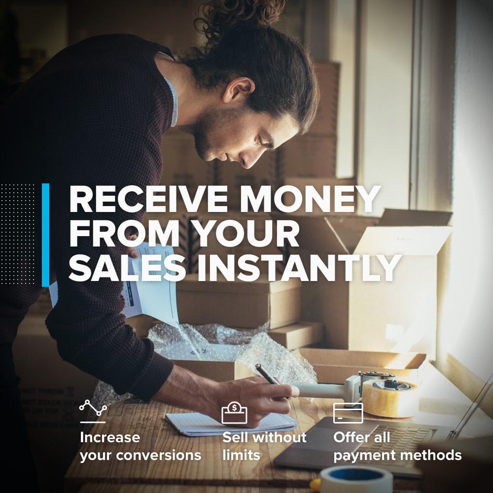 module - Paiement par Carte ou Wallet - Mercado Pago - 1