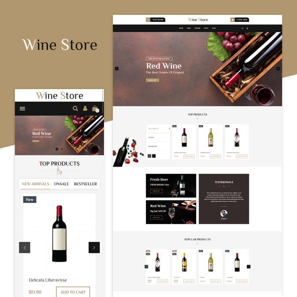 theme - Bebidas & Tabaco - Loja de vinhos - 1