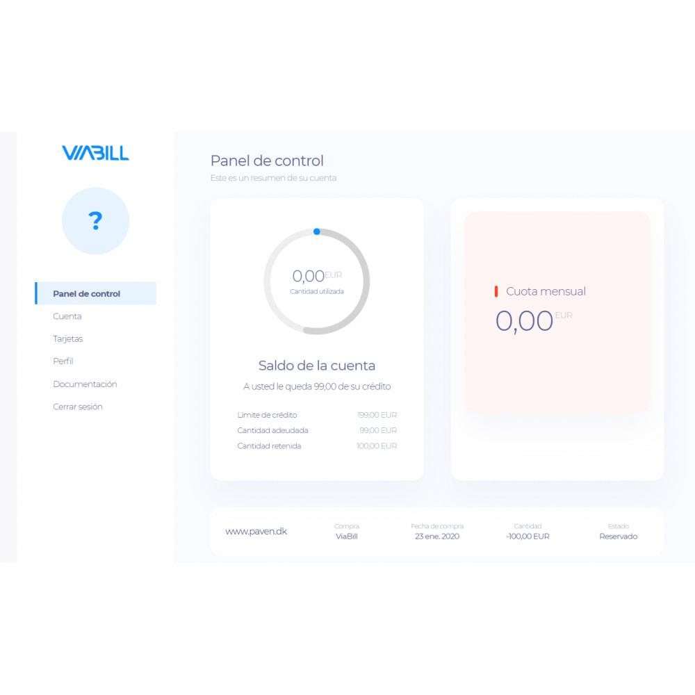 module - Pago con Tarjeta o Carteras digitales - ViaBill Official – Try, before you buy! - 1