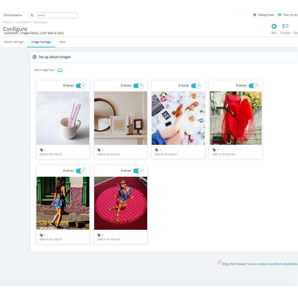 module - Sliders y Galerías de imágenes - Lookbook - Galería de imágenes (con añadir al carrito) - 10