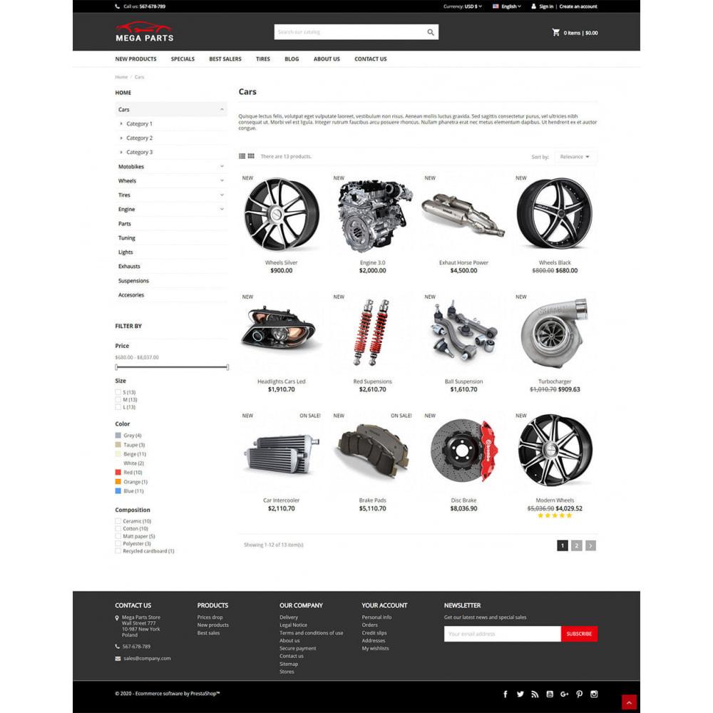 theme - Samochody - Mega Parts Store - 4