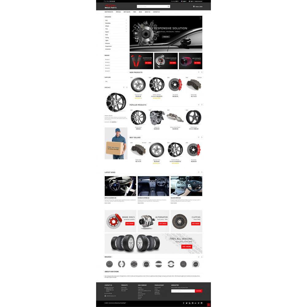 theme - Auto & Moto - Mega Parts Store - 2