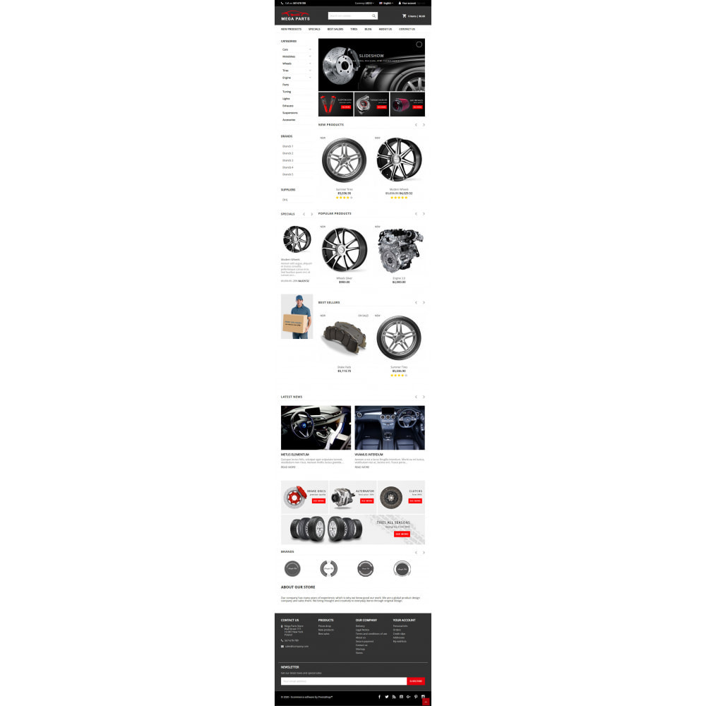 theme - Auto & Moto - Mega Parts Store - 5