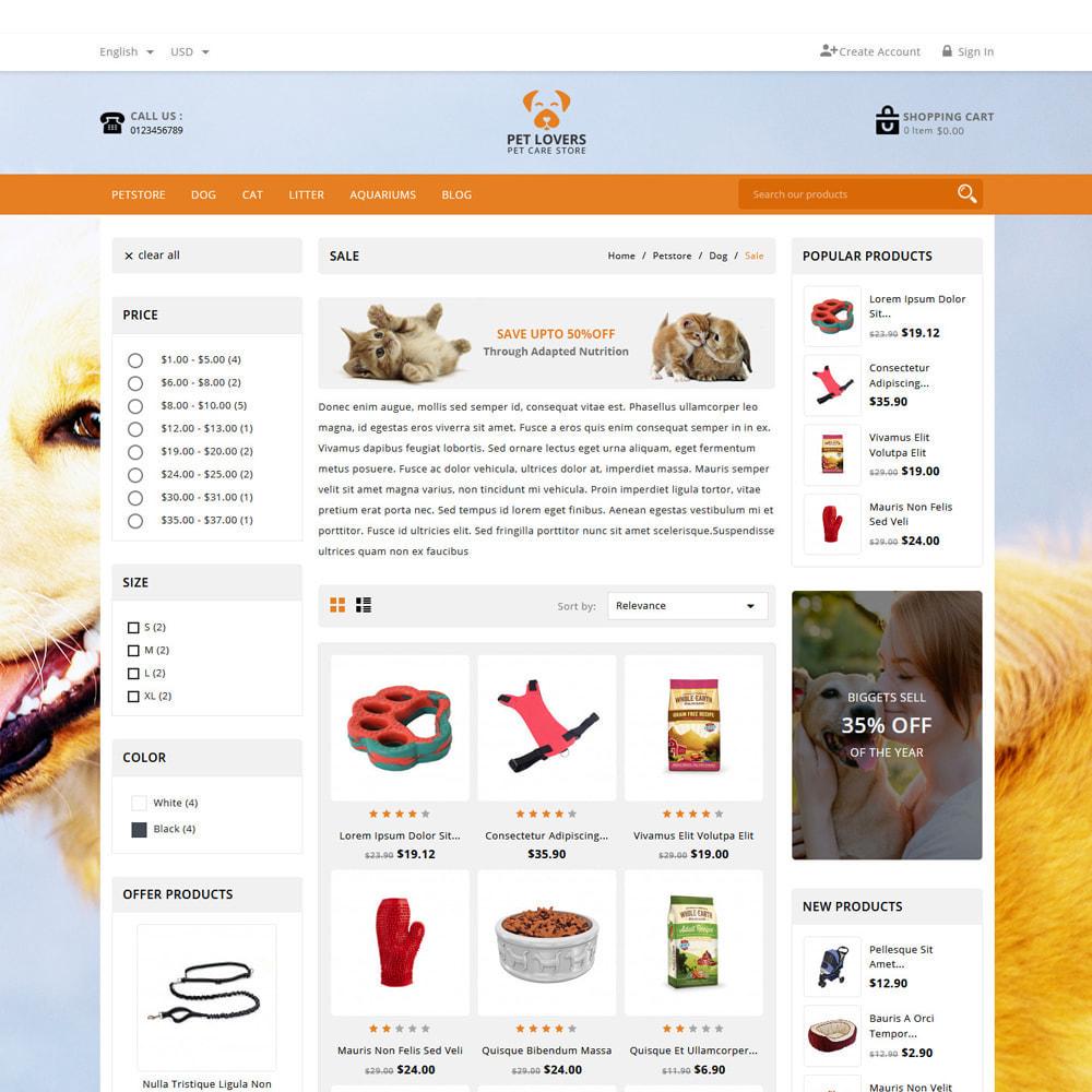theme - Animals & Pets - Petlovers Animals & Pet Shop - 3