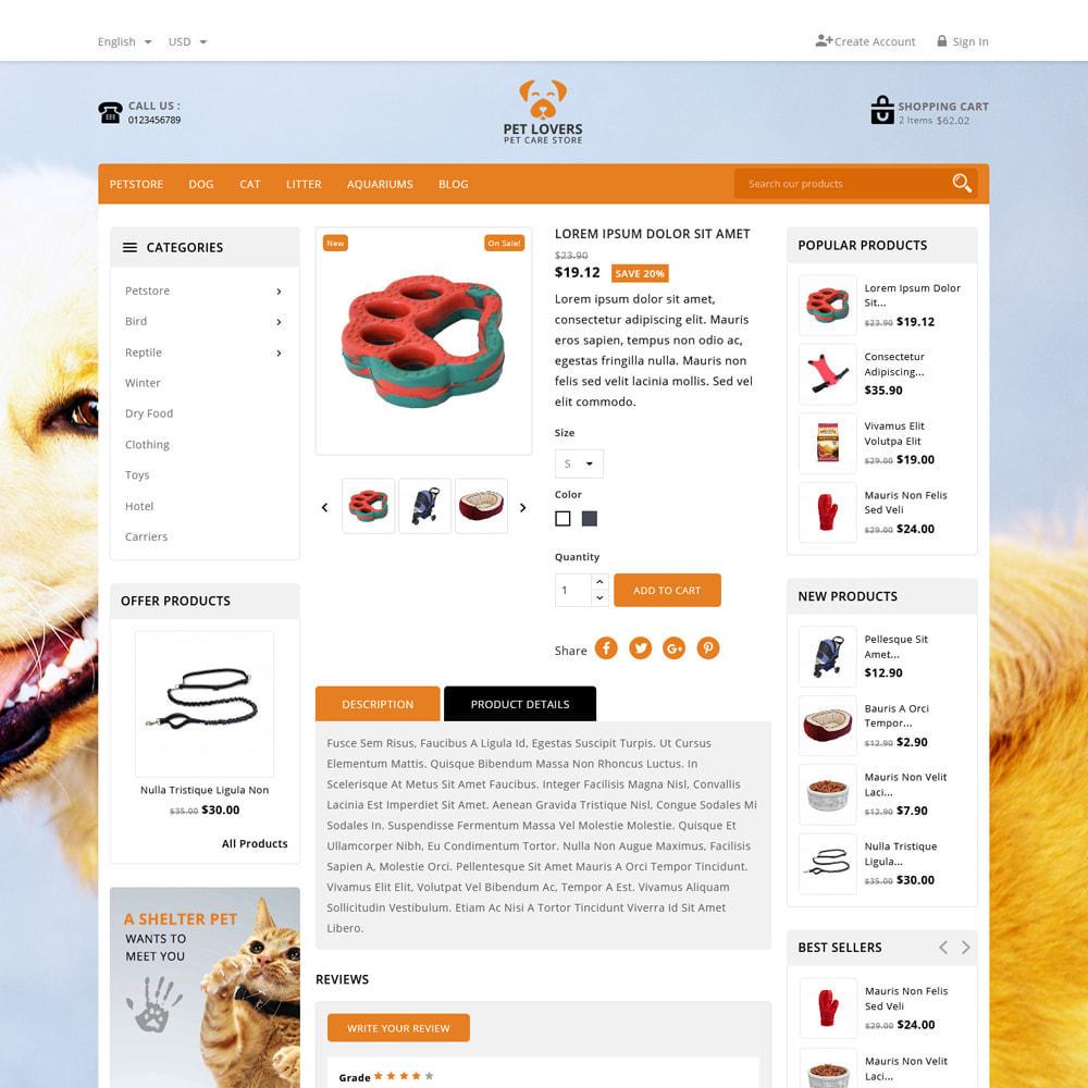 theme - Animals & Pets - Petlovers Animals & Pet Shop - 5