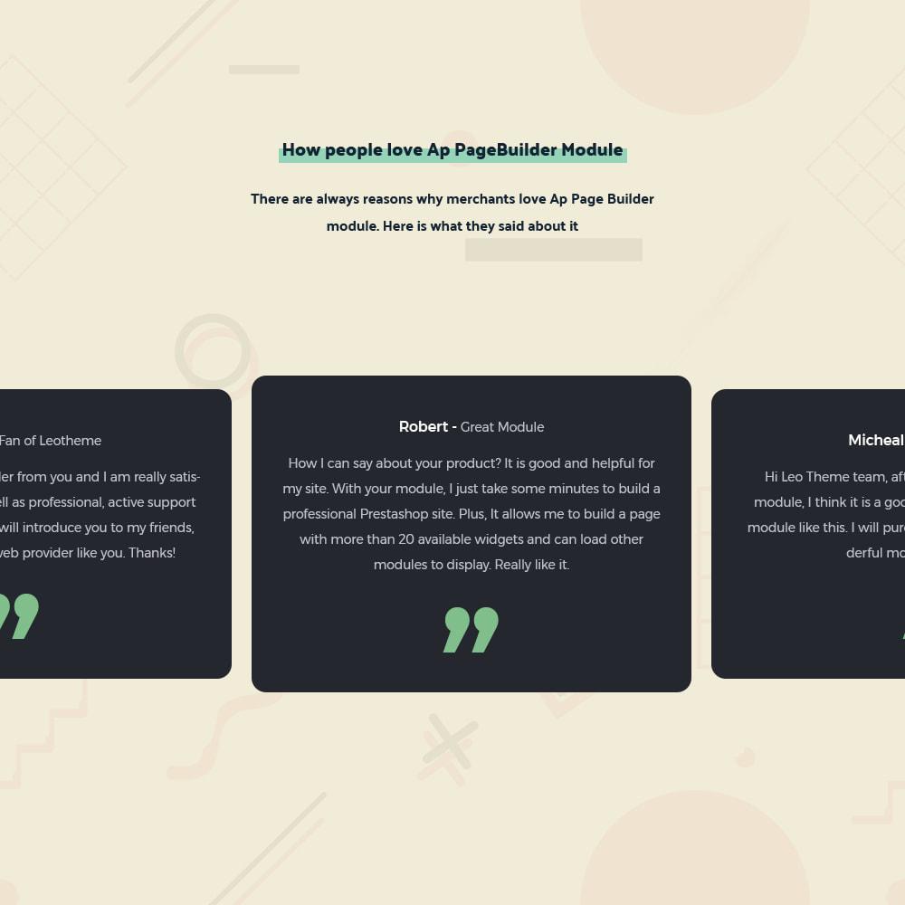 module - Personalizzazione pagine - Ap Page Builder - 29