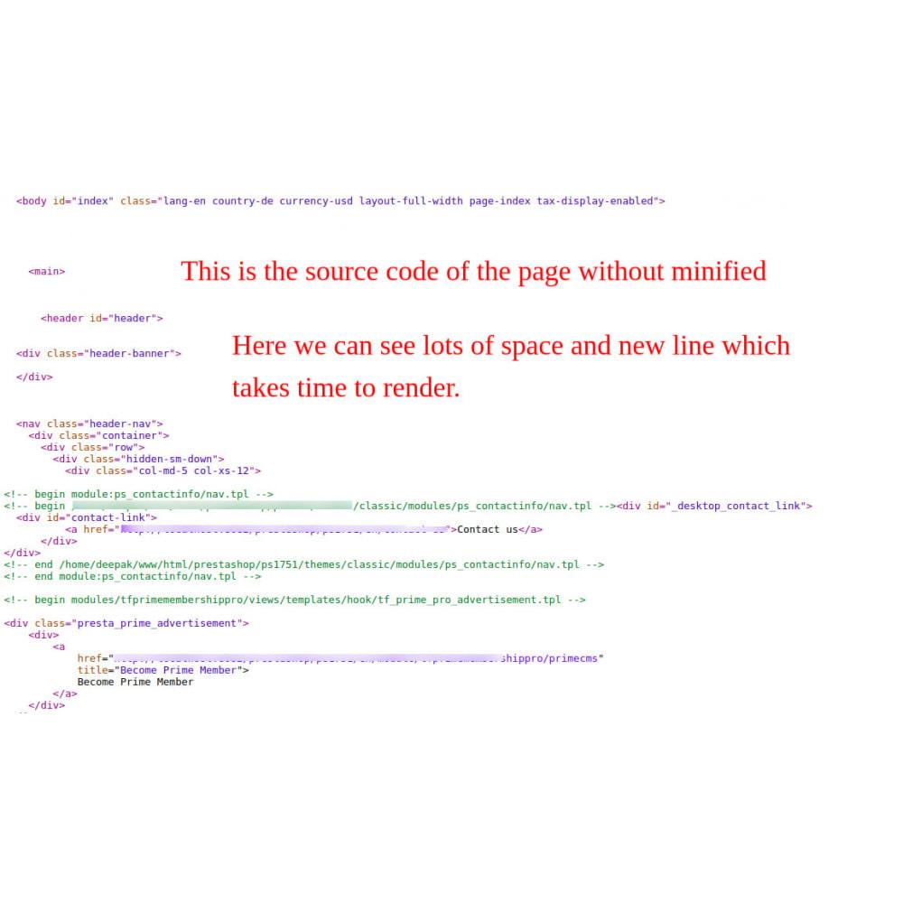 module - Повышения эффективности сайта - Minify HTML, CSS & JS Pro - 3