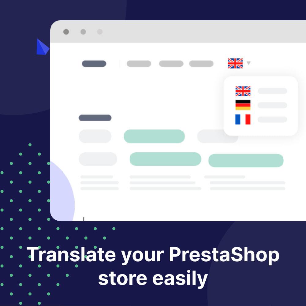 module - Internacional & Localização - Translate Your Store - Weglot - 1