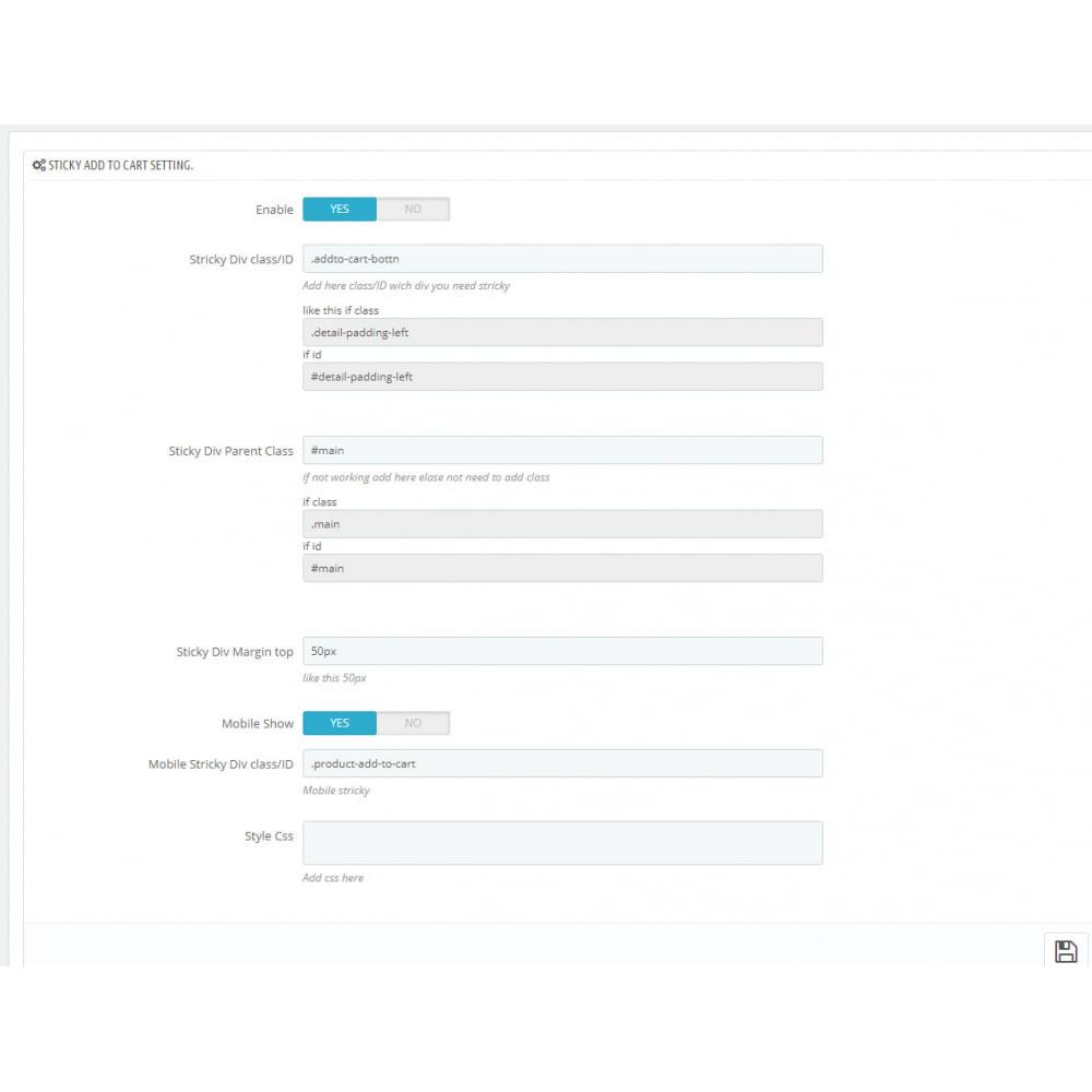 module - Proceso rápido de compra - Sticky Add To Cart button - 2
