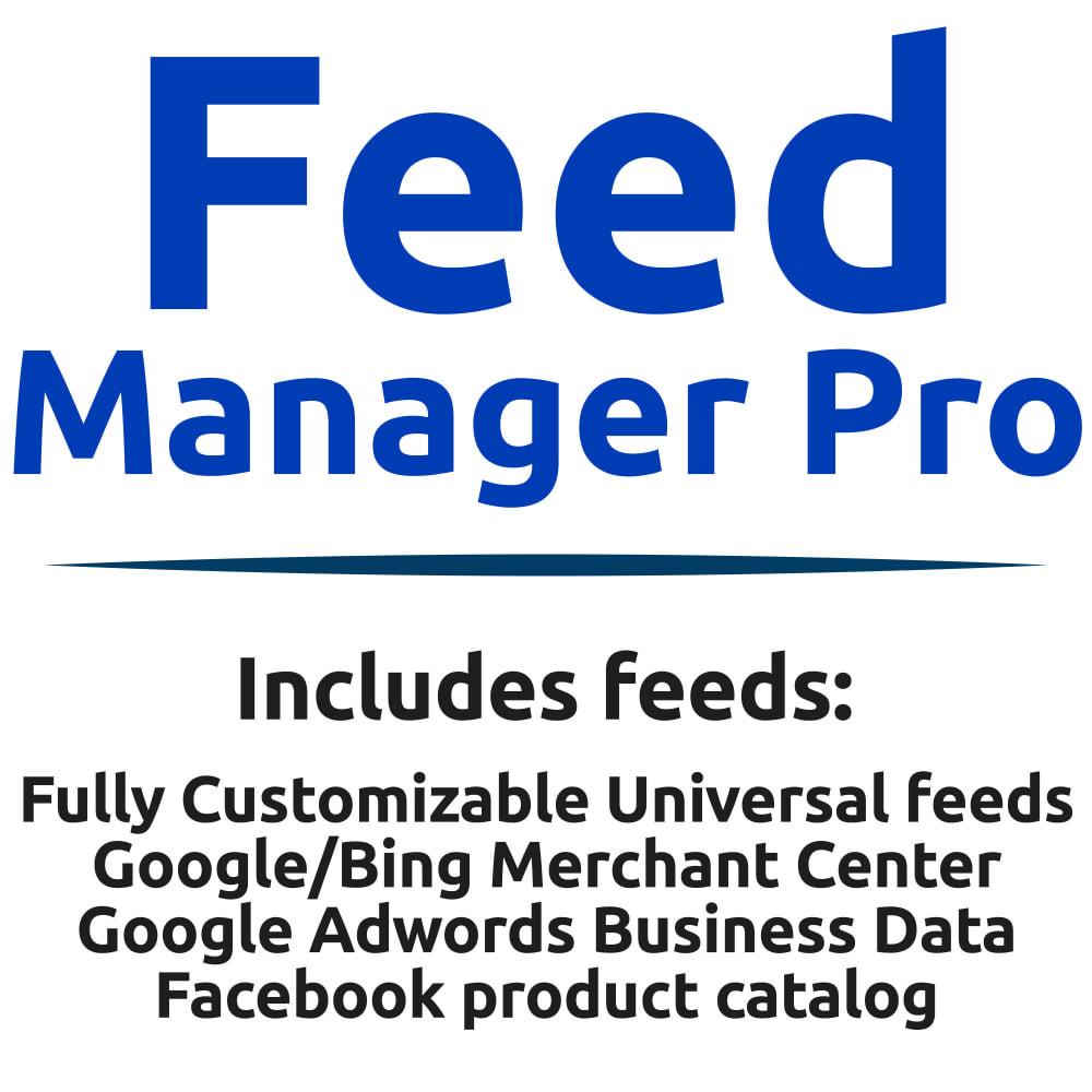 module - Платная поисковая оптимизация - Feed Manager Pro (Product feeds for all platforms) - 1