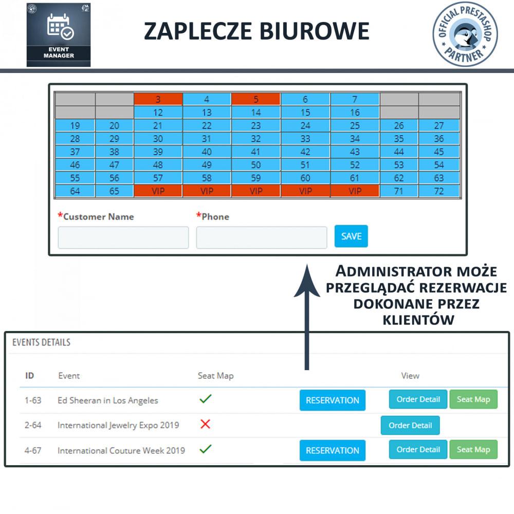 module - Wynajmu i rezerwacji - Menadżer wydarzeń, Twórz Wydarzenia i Sprzedawaj Bilety - 11